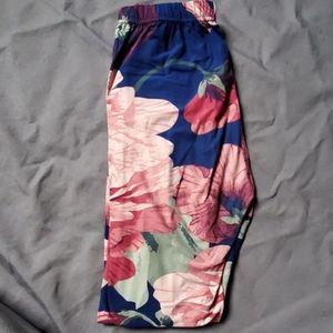 Agnes and Dora S/M floral leggings